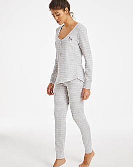 Boux Avenue Racoon Stripe Legging Set