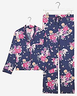 Pour Moi Kiku Luxe Woven Pyjama Set