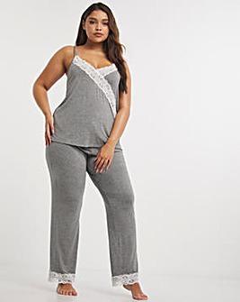 Pour Moi Sofa Loves Lace Pyjama Pant
