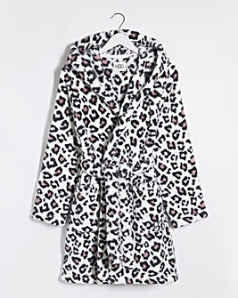 Ugg Aarti Hooded Sherpa Fleece Robe