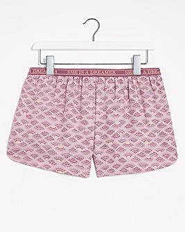 Hunkemoller Twill Printed PJ Shorts