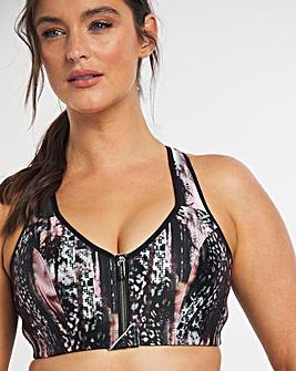 Dorina Curves Arizona Zip Front Sports Bra