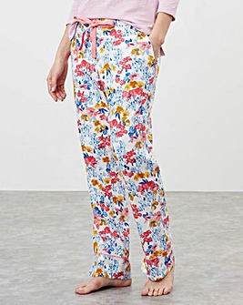 Joules Luna Light Woven Pyjama Bottoms