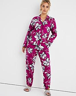 Cyberjammies Natasha Floral Print PJ Set