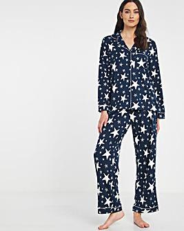 Chelsea Peers NYC Sparkle Star PJ Set