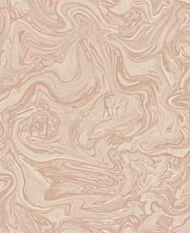 Marbled Effect Pebble & Rose Gold Paper