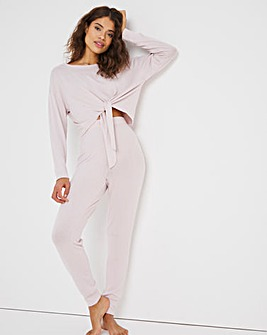 Boux Avenue Sia Tie Top & Jogger Set