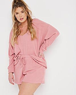 Boux Avenue Lillie V Neck Top & Shorts Set