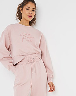 Boux Avenue Calm Is My Superpower Sweat Top