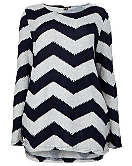 Izabel London Curve Zig Zag