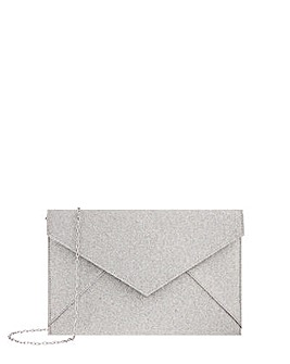 Accessorize Lily Glitter Envelope Clutch