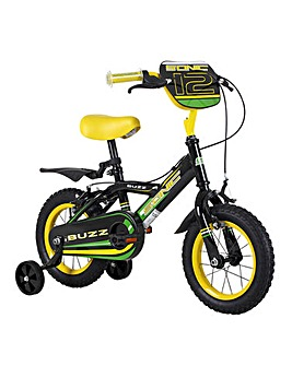 "Sonic Buzz 12"" Boys Junior Bicycle"