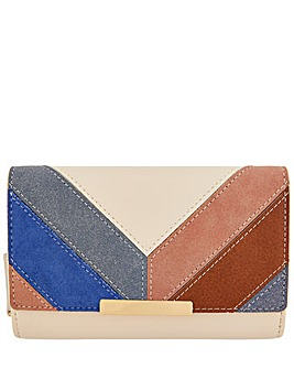 Accessorize Alicia Chevron Patch Wallet