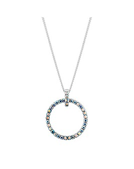 Simply Silver Swarovski Pendant Necklace