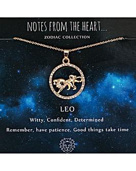 Leo Zodiac Sign Pendant