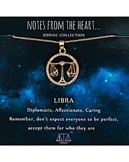 Libra Zodiac Sign Pendant
