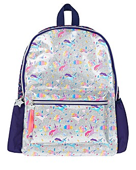 Accessorize Unicorn Glitter Backpack