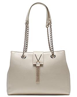 Mario Valentino Divina Pebbled Tote Bag
