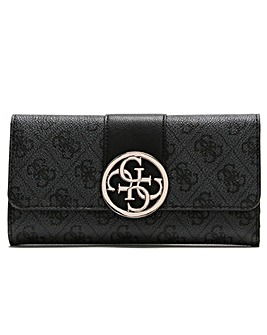Guess Bluebelle Trifold Logo Wallet