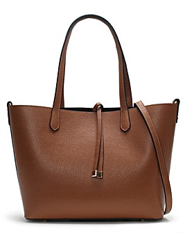 Daniel Madder Leather Tote Bag