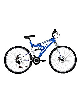 Phaser Dual Suspension Mountain Bike 18""