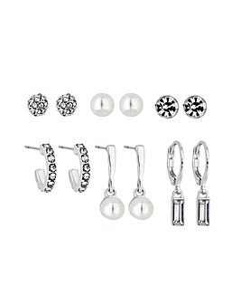 Mini Studs And Huggie Hoops Earrings