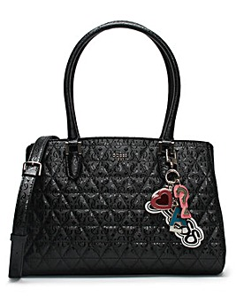 Guess Tabbi Logo Satchel Bag