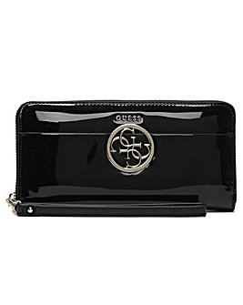 Guess Kamryn Zip Around Wristlet Wallet