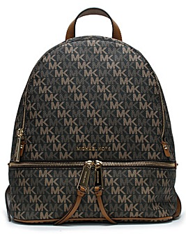 Michael Kors Rhea Diagonal Logo Backpack