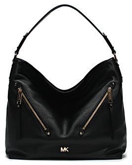 Michael Kors Large Evie Leather Hobo Bag