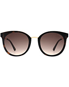 Guess Metal Bridge Round Sunglasses