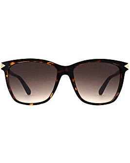 Guess Diamante Triangle Sunglasses