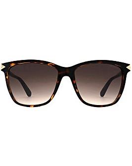 Guess Diamante Triangle Sunglasses