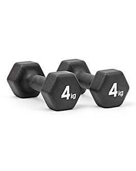 Adidas 4Kg Dumbbell x2