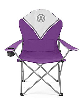 VW Deluxe Padded Chair - Purple
