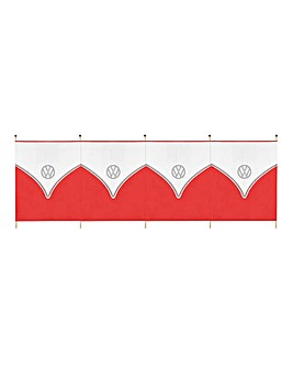 VW 5 Pole Tall Windbreak - Red