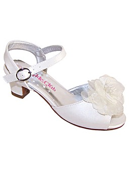 Sparkle Club Ivory Sandals