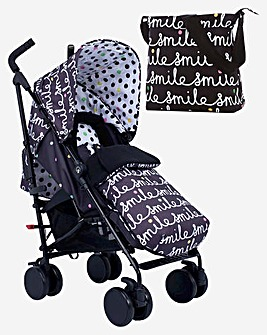 Cosatto Supa 2 Stroller & Change Bag - All Smiles
