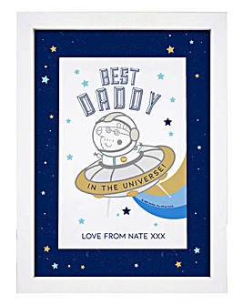 Personalised Best Daddy Print