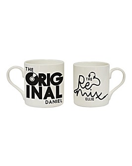 Personalised Remix Mug Set