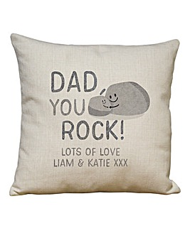 Personalised You Rock Cushion