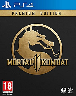Mortal Kombat 11 Premium Edition PS4