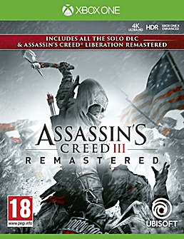 Assassins Creed III Remastered Xbox One