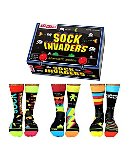 Sock Invaders Oddsocks