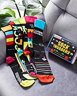 Sock Invaders Oddsocks