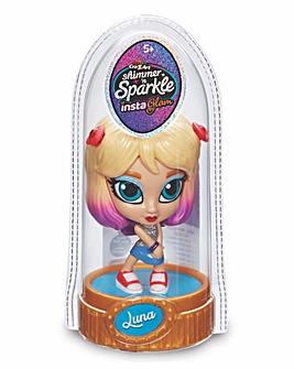 Shimmer 'N' Sparkle Insta Glam Rainbow Dolls Luna