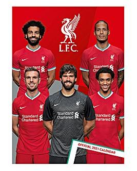 Liverpool A3 Calendar