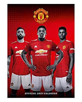 Manchester United A3 Calendar