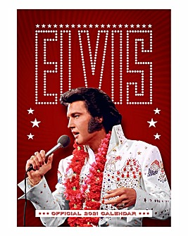 Elvis A3 Calendar