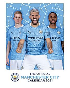 Manchester City A3 Calendar